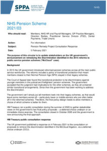 thumbnail of 2021-03_NHS_Circular_Pension_Remedy_Project_Consultation_Response