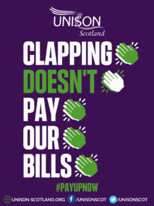 A4 clapping poster