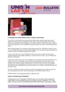 thumbnail of Labour Link Bulletin – June 2020 Web
