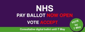 NHS pay ballot web slider 1