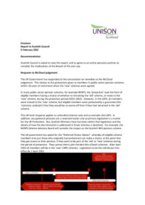 thumbnail of Pension report to Scottish Council