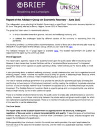 thumbnail of Post Covid Economic Recovery e-brief June 2020