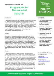 thumbnail of Prog for Govt 202021 policy briefing for web