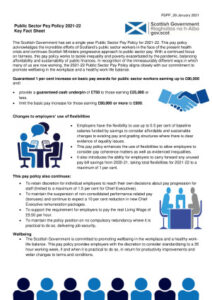 thumbnail of Public Sector Pay Policy 2021-22 Fact Sheet