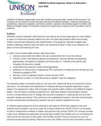 thumbnail of Return to education response June 2020