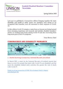 thumbnail of SDMC Newsletter Spring Edition 2021