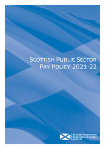 thumbnail of Scottish Public Sector Pay Policy 2021-22