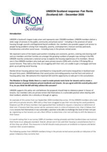 thumbnail of UNISON Response_Fair Rents Scotland Bill