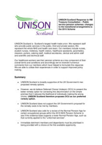 thumbnail of UNISON final draft McCloud response Scotland