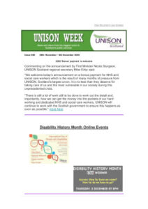 thumbnail of UNISON week 300