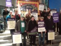 Glasgow CCTV strikers