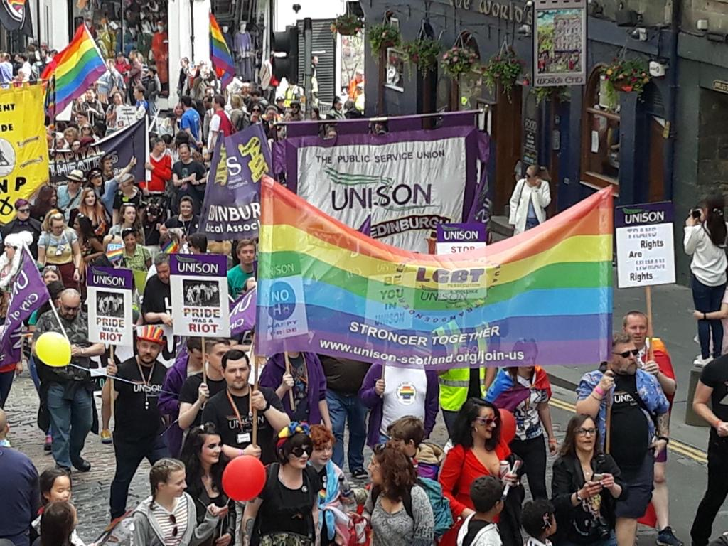 New UNISON Scotland LGBT+ committee constitution